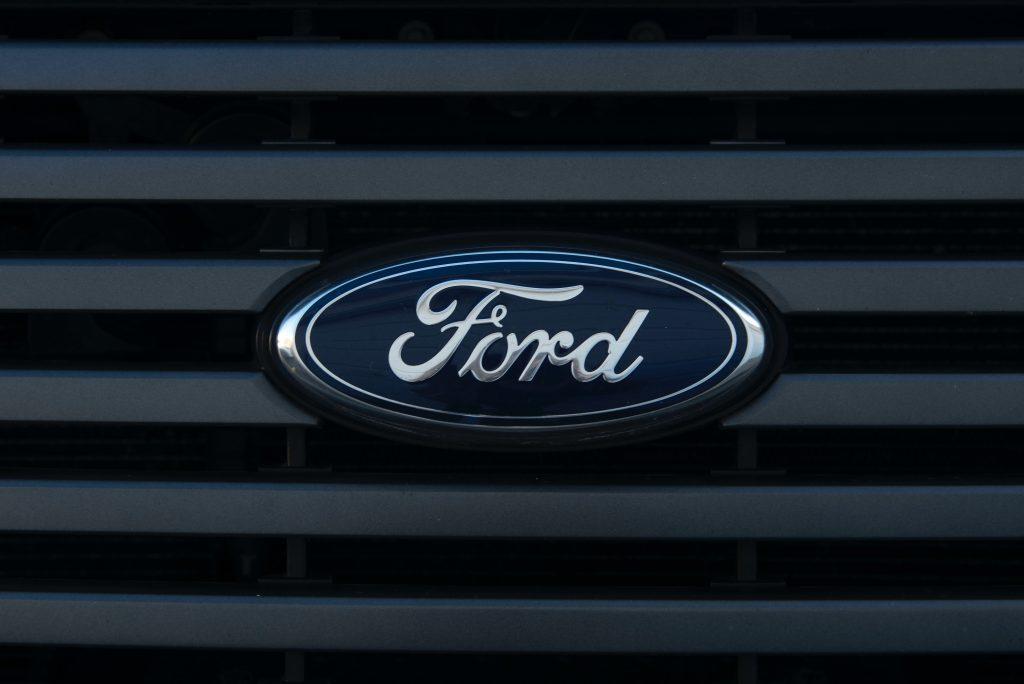 The Ford Focus emblem