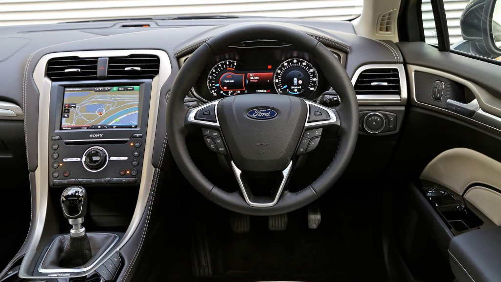 Interior car shot