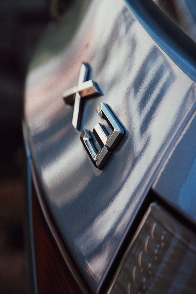 The X3 emblem