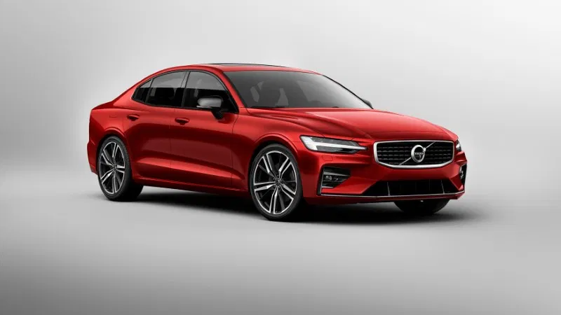 Latest model of the Volvo V40