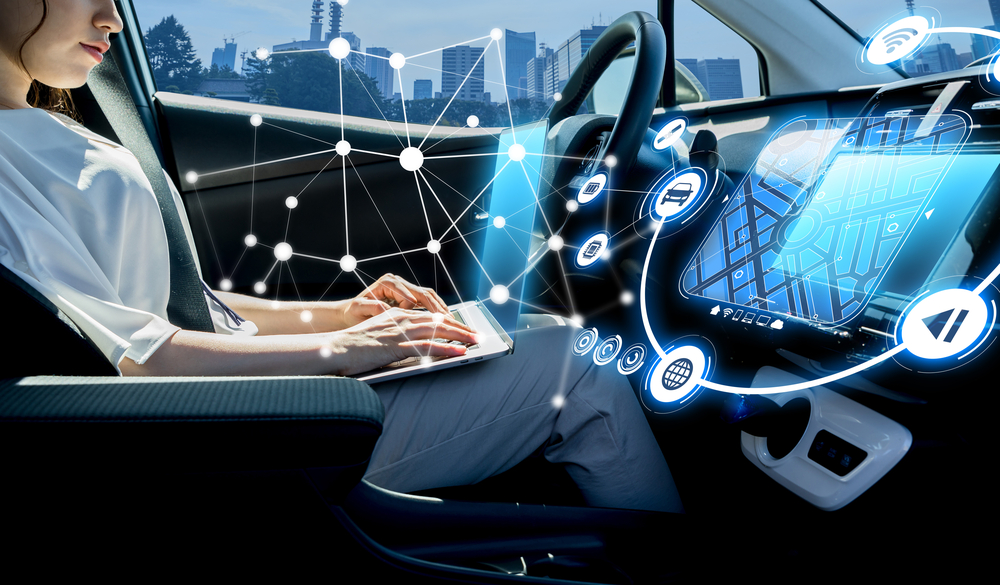 ADAS interacting with the windscreen and car glass